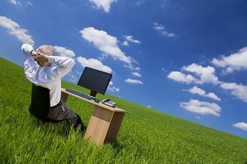 Phantasiereisen können vorbeugen gegen Burnout und Stress im Büro